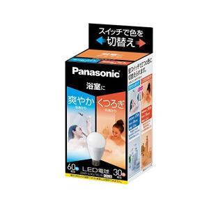 Panasonic(パナソニック) LED電球 口金直径26mm 電球60W形相当 昼光色相当(9.0W)/電球色相当(6.6W) 一般電球・光色切替えタイプ LDA9GKUYKW|n-tools