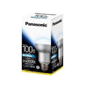 Panasonic(パナソニック) LED電球 口金直径26mm 電球100W相当 昼光色相当(9.4W) 一般電球・レフタイプ 密閉形器具対応 LDR9DW|n-tools