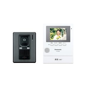 Panasonic(パナソニック) テレビドアホン モニター親機 カメラ玄関子機(VL-V522L-S)セット VL-SZ30KL n-tools