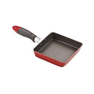 コンパクト フッ素加工 IH対応 スクエア玉子焼き 13×14cm HB2182 パール金属|n-tools