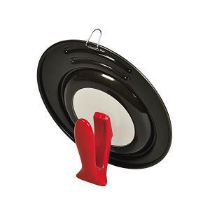 ロッソ・ブラック シリコーン加工 窓付 スタンドパンカバー 18~22cm用 HB-2636 パール金属|n-tools