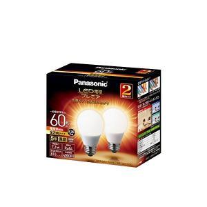 Panasonic(パナソニック) LED電球 プレミア 口金直径26mm 電球60W形相当 電球色相当(7.3W) 一般電球・全方向タイプ 2個入り 密閉器具対応 LDA7LGZ60ESW22T|n-tools