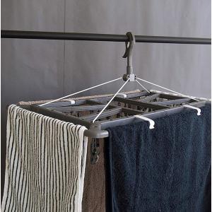 UB タオルで隠し干しハンガー ジャンボ グレー ピンチ40個付 洗濯物ハンガー 東和産業|n-tools