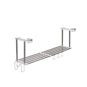 伸縮吊戸下はさみ棚 1段 幅55~95cm HM1-90LK 田窪工業所 n-tools