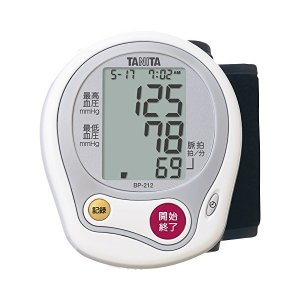 タニタ(TANITA) 手首式血圧計 ホワイト BP-212-WH|n-tools
