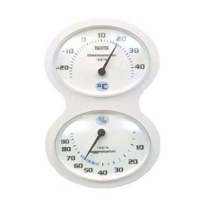 タニタ(TANITA) 温湿度計 ホワイト TT-509-WH|n-tools