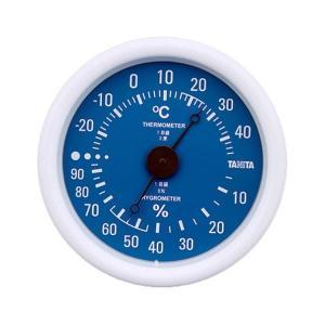 タニタ(TANITA) 温湿度計 ブルー TT-515-BL|n-tools