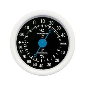 タニタ(TANITA) 温湿度計 ブラック TT-515|n-tools