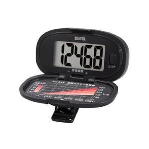 タニタ(TANITA) 歩数計 ブラック PD-645-BK|n-tools