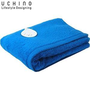 UCHINO バスタオル とってもよく吸う ごくふわ 65×130cm ブルーグリーン 8836B711 BG|n-tools