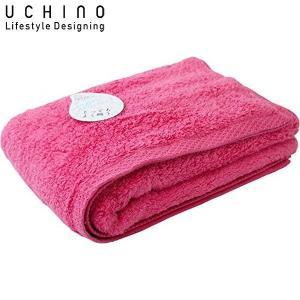 UCHINO バスタオル とってもよく吸う ごくふわ 65×130cm ピンク 8836B711 P|n-tools