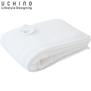 UCHINO バスタオル とってもよく吸う ごくふわ 65×130cm ホワイト 8836B711 W|n-tools
