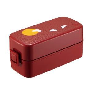 ランチボックス2段 月とうさぎバッグ付 ランタス レッド SS-T620 アスベル n-tools
