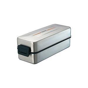 お弁当箱2段870mL クレズ バッグ付き ステンレス 3610 SS-T870L アスベル n-tools