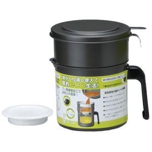 フッ素コート活性炭油ロ過ポット0.9L KRP-0.9 高木金属|n-tools