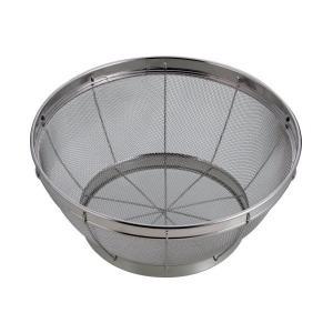 アクアスプラッシュ ステンレス製 キッチン ザル 40cm H-9269 パール金属|n-tools