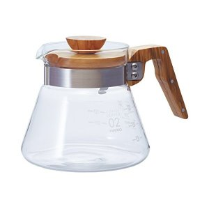 HARIO(ハリオ) コーヒーサーバー オリーブウッド 600ml VCWN-60-OV|n-tools