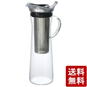 HARIO (ハリオ) コールドブリュー アイスコーヒー ピッチャー 1000ml 8杯専用 CBC-10SV n-tools