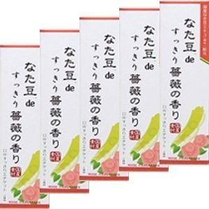 三和通商 なた豆deすっきり薔薇の香り 120g|n-tools