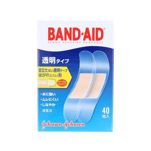 Nバンドエイド 透明タイプ 40枚 ジョンソン&ジョンソン|n-tools
