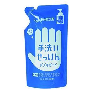 バブルガードつめかえ用250mL シャボン玉石鹸|n-tools