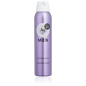 エージーデオ24 メンズデオドラントスプレー アクアティックソープの香り 100g(医薬部外品) エフティ資生堂|n-tools