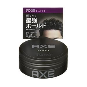アックス ブラック メンズスタイリング マッドワックス 65g|n-tools