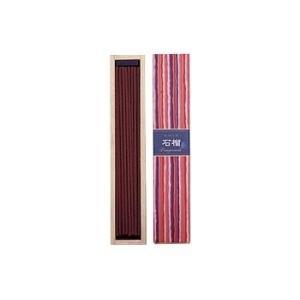 かゆらぎ石榴 40本 香立付 38406 日本香堂|n-tools