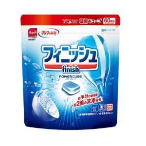 フィニッシュ 食洗機用洗剤 パワーキューブ タブレット Mサイズ 60回分 アース製薬|n-tools