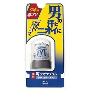 男デオナチュレ クリスタルストーン 60g|n-tools