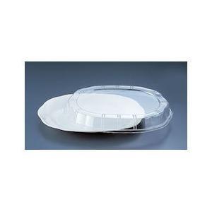 プラ容器 シルキー用蓋 透明 中用 10枚入 XNS0403|n-tools