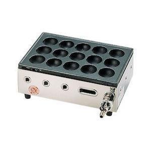 高級たこ焼器 Y-03D 15穴 12・13A GTK552|n-tools