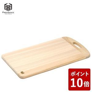PRESSENCE ヒノキ 薄型まな板 L 取っ手付き 45cm×27cm×厚1.5cm プレッセンス 15907540 フジイ 土佐龍|n-tools