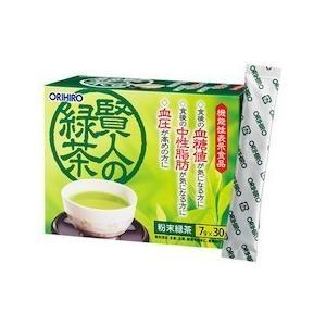 賢人の緑茶 7g×30包 オリヒロ株式会社 【品番:2065】|n-tools
