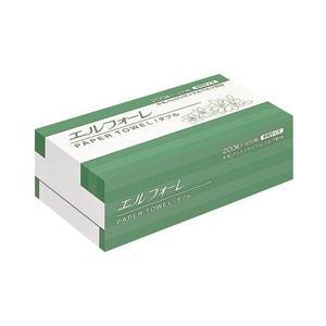 エルフォーレペーパータオルW200組400枚(中判)30束 CD:427121|n-tools
