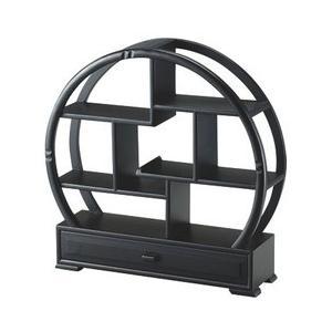 丸型茶壷飾棚引出し付X07J004-1 CD:468191|n-tools