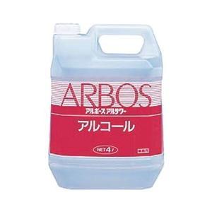 消毒アルコールアルサワー4L CD:090009|n-tools