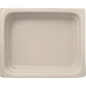 ガストロノームパン 角型 深1/2 白 ミヤザキ食器 CD:446153|n-tools