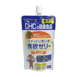 DHC 愛犬用 パクッといきいき食欲ゼリー チーズ味 130g|n-tools