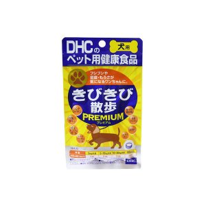 DHC 愛犬用 きびきび散歩プレミアム 60粒入|n-tools