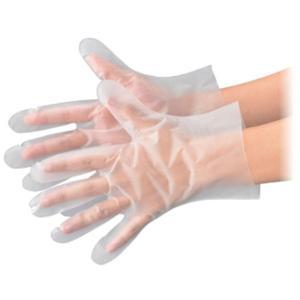 食品加工用使い捨て手袋 No.356 シルキーダイヤ 半透明 Mサイズ 袋入 100枚入 エブノ|n-tools