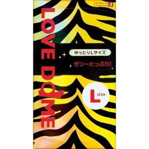 オカモト LOVE DOME(ラブドーム) タイガーコンドーム Lサイズ 12個入 n-tools