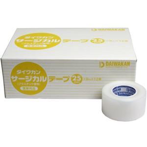 サージカルテープ プラスチック透明タイプ 医家向品 25mm×9m×12巻 n-tools