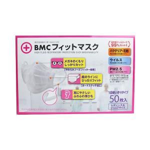 BMC フィットマスク 使い捨てサージカルマスク レディース&ジュニアサイズ 50枚入 n-tools