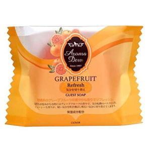 アロマデュウ ゲストソープ グレープフルーツの香り 35g|n-tools