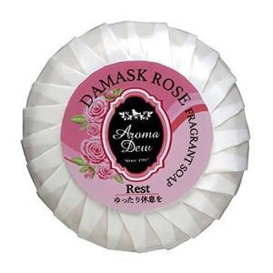 アロマデュウ フレグラントソープ ダマスクローズの香り 100g|n-tools