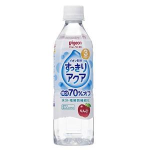 ピジョン ベビー飲料 イオン飲料すっきりアクア りんご 500mL|n-tools