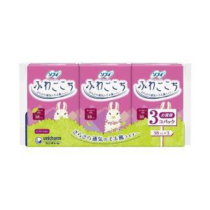 ソフィ パンティライナー ふわごこち ピンクローズの香り 38枚×3個パック|n-tools