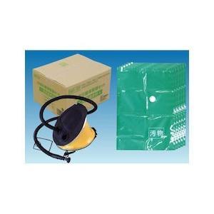 汚物圧縮保管袋セット 空気抜き付 5MX-6P|n-tools
