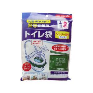 緊急対策用 トイレ袋 ベンリー袋R 5枚入 5RBI-40 n-tools